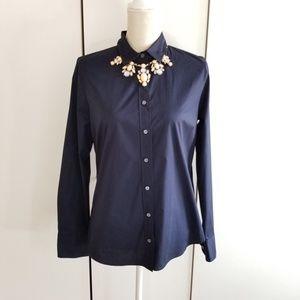 J.crew size M stretch perfect button down shirt
